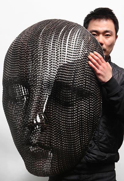bikechainsculpture