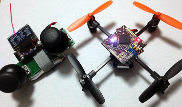 CUADRICOPTERO , DRONE controlado con ANDROID - Arduino
