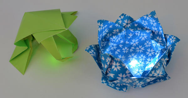 led-origami-adafruit-frog