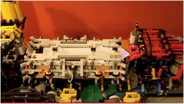 LEGO paper airplane folding machine « Adafruit Industries – Makers ...