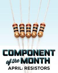 Makezine Cotm Resistors-Badge