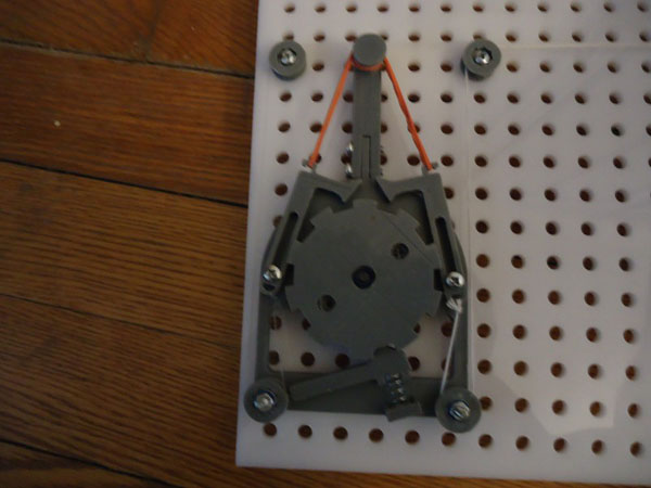 Mechanical stepper