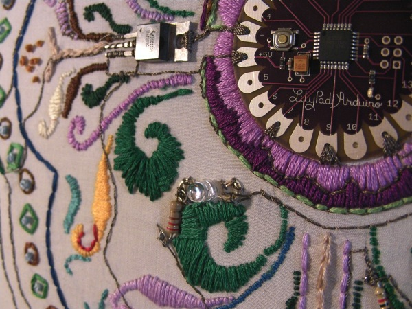 05 lilypad embroidery
