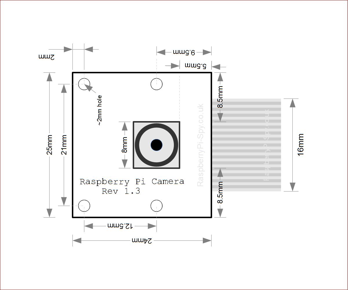 DIY Pi Camera Module Stand piday raspberrypi Raspberry
