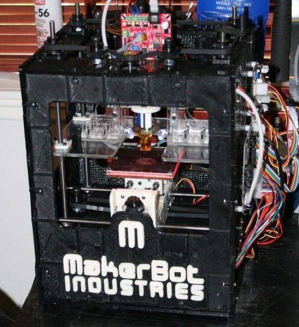 3D Printed Makerbot