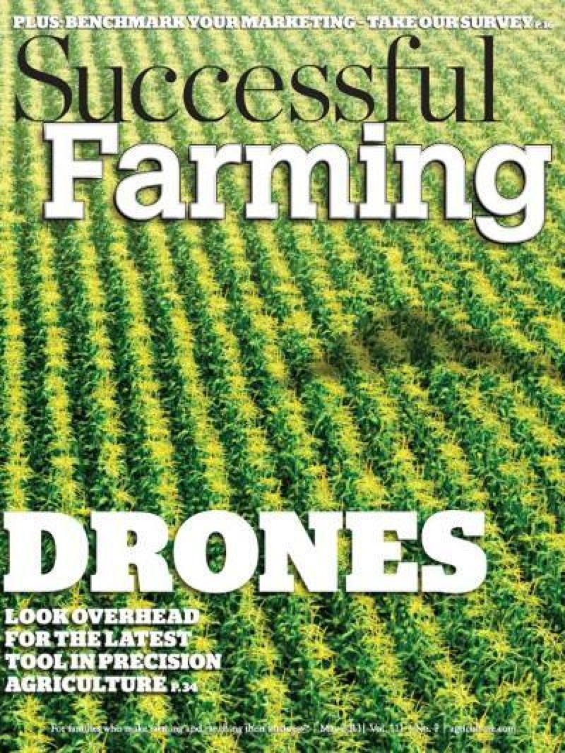 farming drones with Drones Make The Cover Of Successful Farming Magazine Makerbusiness on Tools Equipment likewise Eight ways to employ drones on the farm naa ben potter Ben Potter further Partners Accelerate Iot Adoption In Asia Pacific together with Watch together with Drones Make The Cover Of Successful Farming Magazine Makerbusiness.