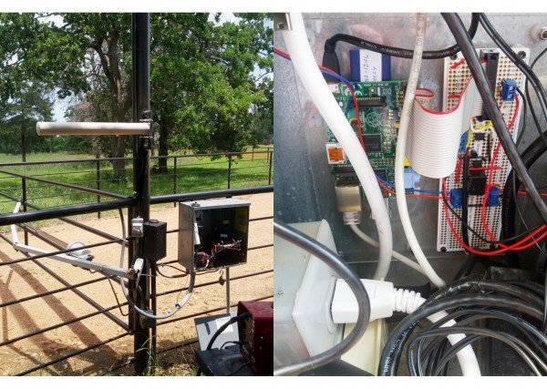 Remote Controlled Gate Powered by RPi #piday #raspberrypi