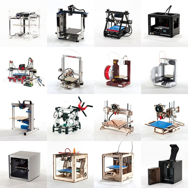 Make ultimate guide to 3d printers lineup