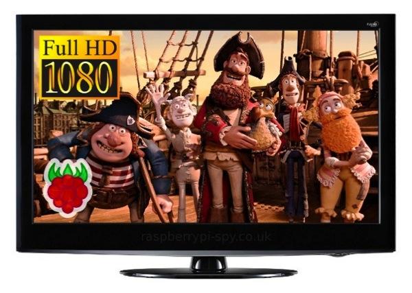 Omxplayer hd pi video pirates