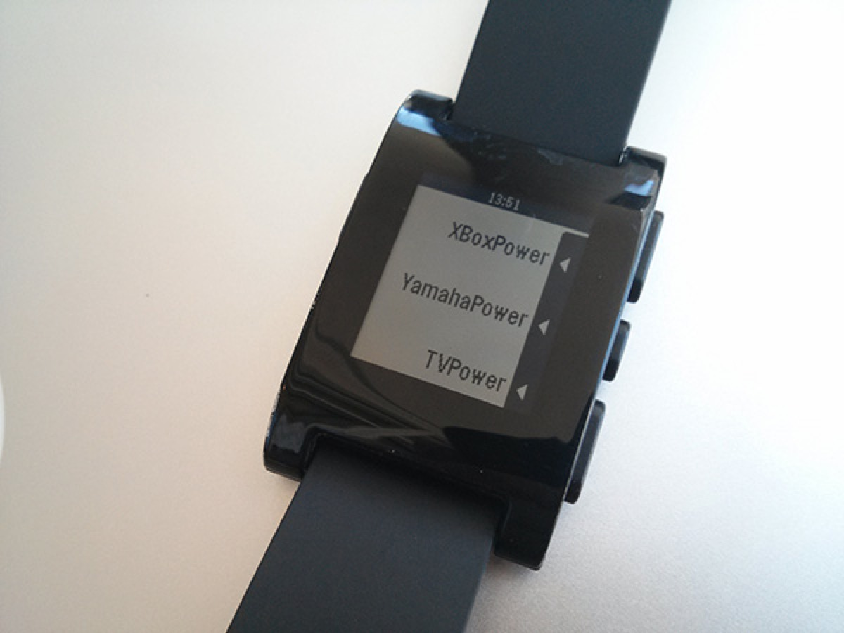 Open-Source-Universal-Remote-Pebble-Watch