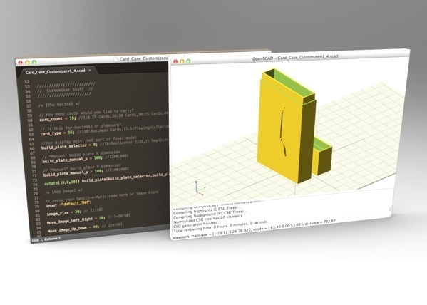 Openscad header