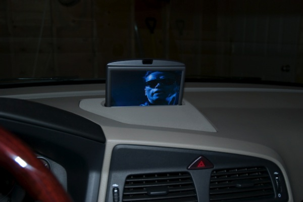 Volvo rti display