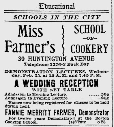 1903 Farmer Cookery Huntingtonave Bostoneveningtranscript Feb21