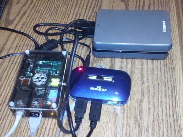 Raspberry PI NAS Adafruit Industries Makers hackers