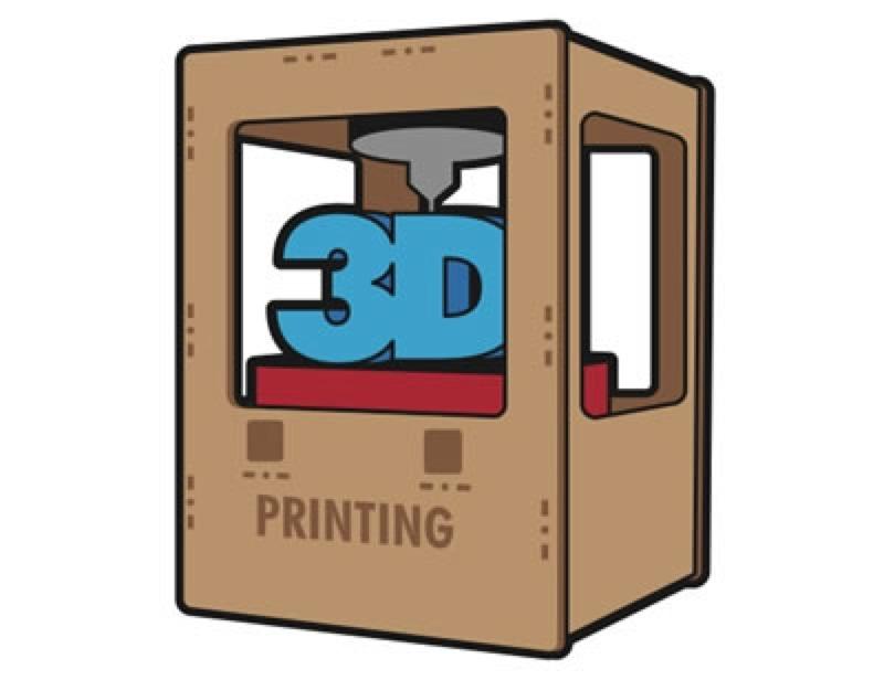 3Dprintsticker Med