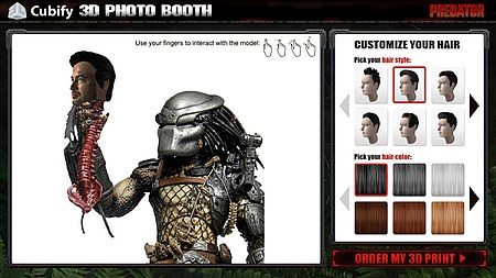 Predator 3D Photo Booth