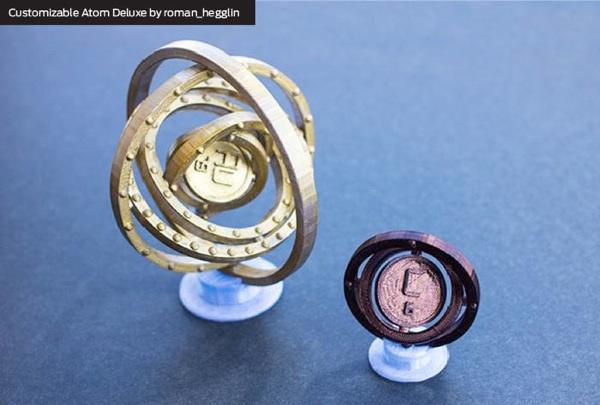 3d Bohr Rutherford Model 3d Printable Bohr Models of