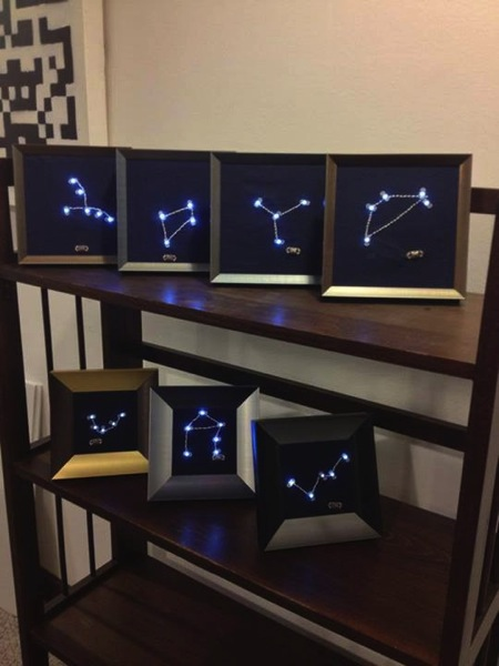 Constellationledembroidery