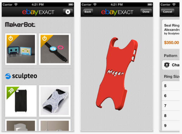 EBay Exact for iPhone 3GS iPhone 4 iPhone 4S iPhone 5 iPod touch 3rd generation iPod touch 4th generation iPod touch 5th generation and iPad on the iTunes App Store