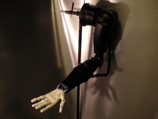 Robo arm 3d printed 1