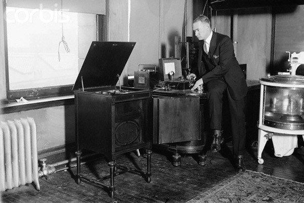 Vladimir Kosma Zworykin in Laboratory