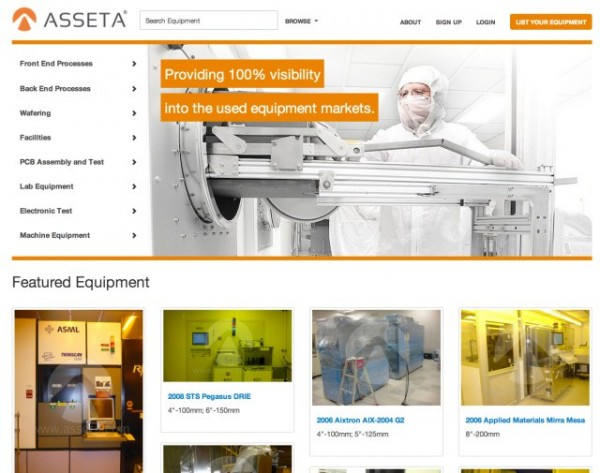Asseta Used equipment