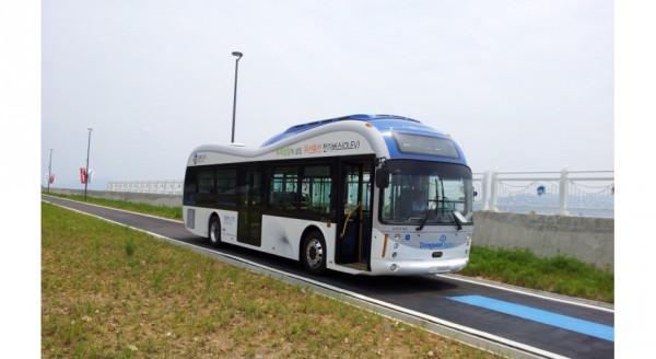 Korean bus wireless-charging