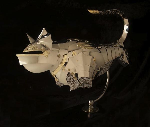 20130805 Linked 3D Printing Jeff de Boer Gothic Bat Cat cover
