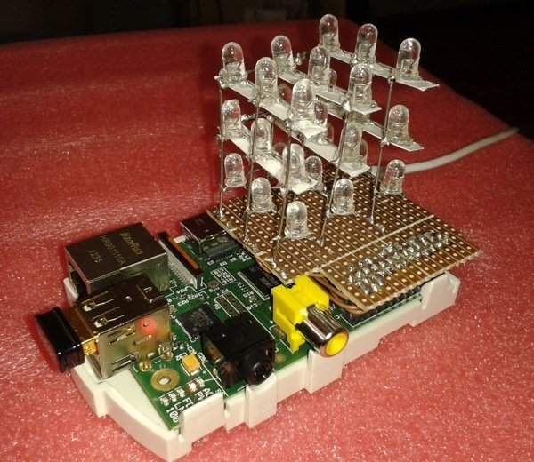 Raspberry Pi 3 Power >> Raspberry Pi: 3x3x3 LED Cube @Raspberry_Pi #piday #raspberrypi « Adafruit Industries – Makers ...