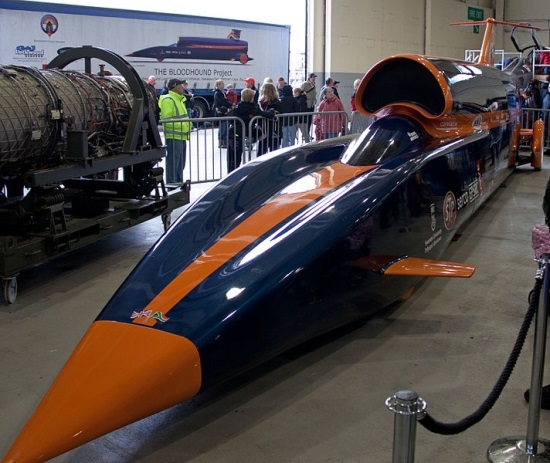 Bloodhound 1000mph Land speed record project