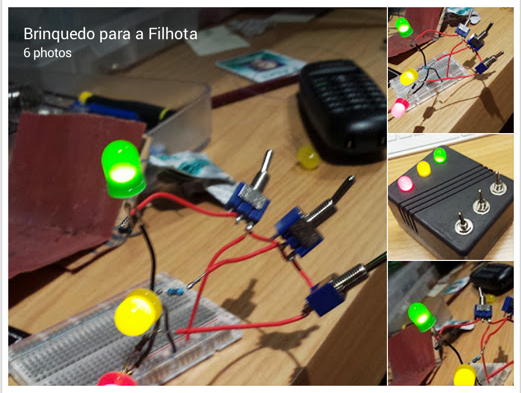 Manoel Lemos Google A Toy For my Future Maker Girl A very dumb circuit in a