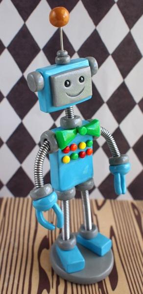 RobotBirthdayCakeTopperFelix02