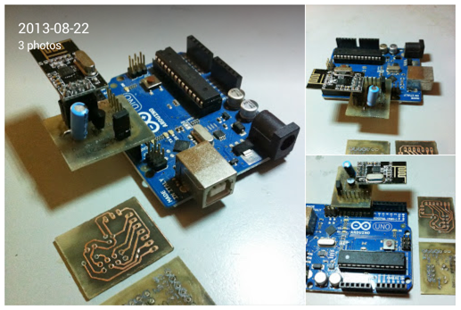 Stanley Seow Google With a help of a student to make the PCb I designed these