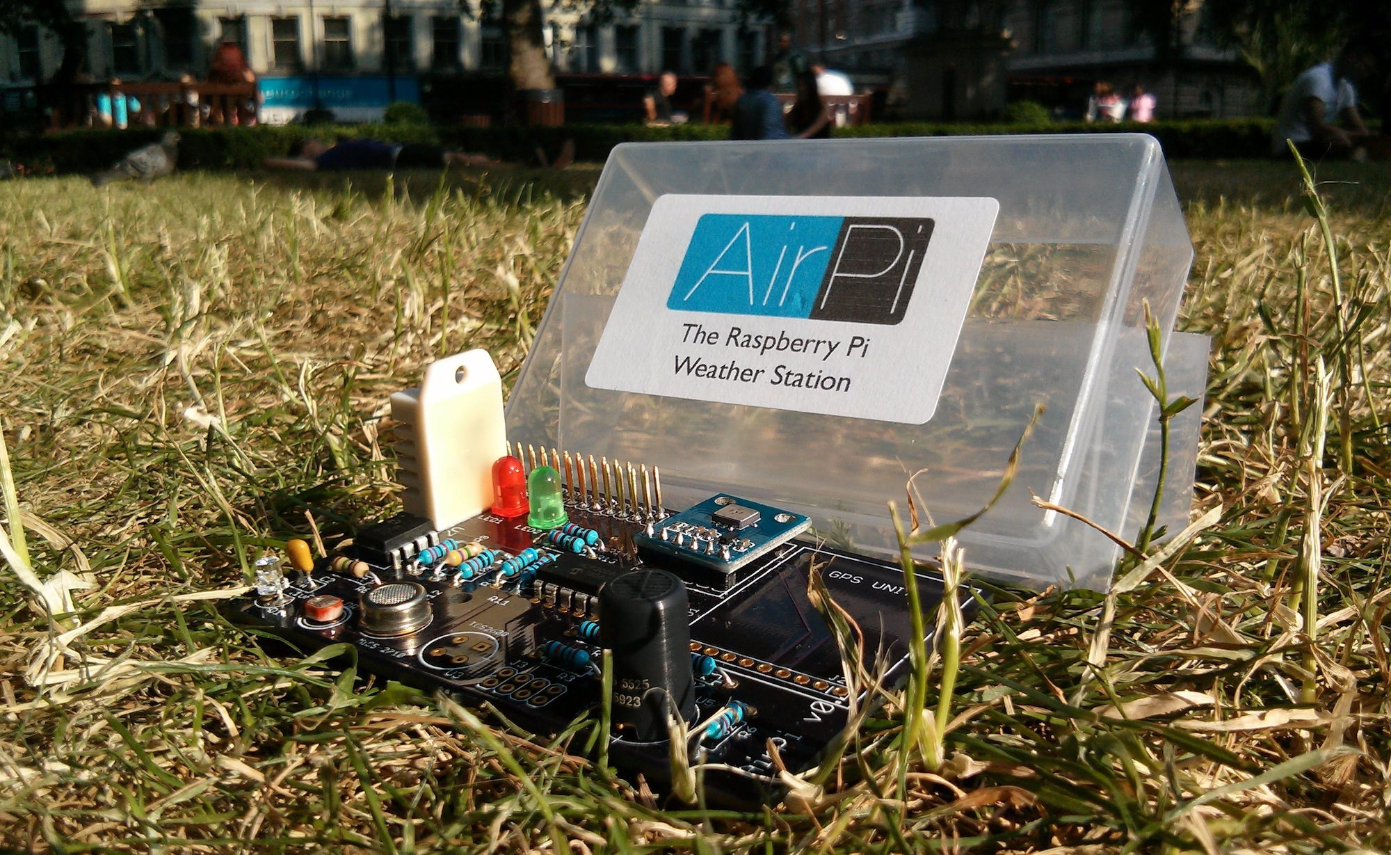 Airpi The Raspberry Pi Weather Station Raspberry Pi