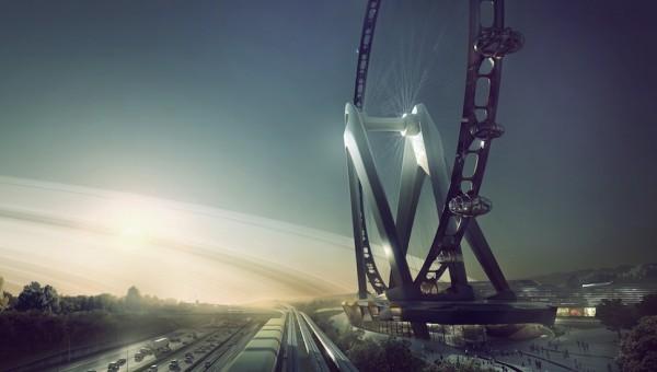 0905132 Ferris wheel 1