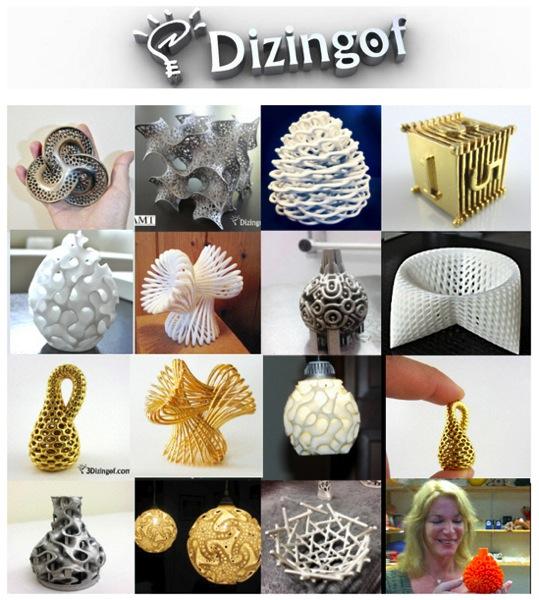 3Dizingof com Math Art by Dizingof