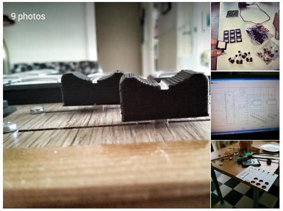 Arjen Klaverstijn Google Wooowie Almost done with my DIY midi controller Only