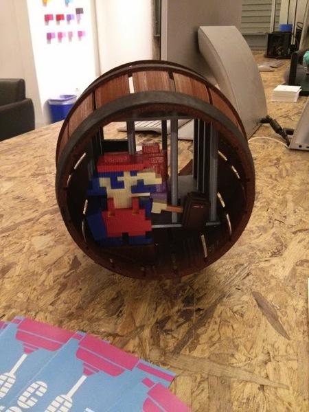 Donkey Kong Barrel 4