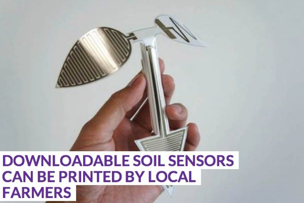 Downloadable Soil Sensors Can Be Printed By Local Farmers PSFK