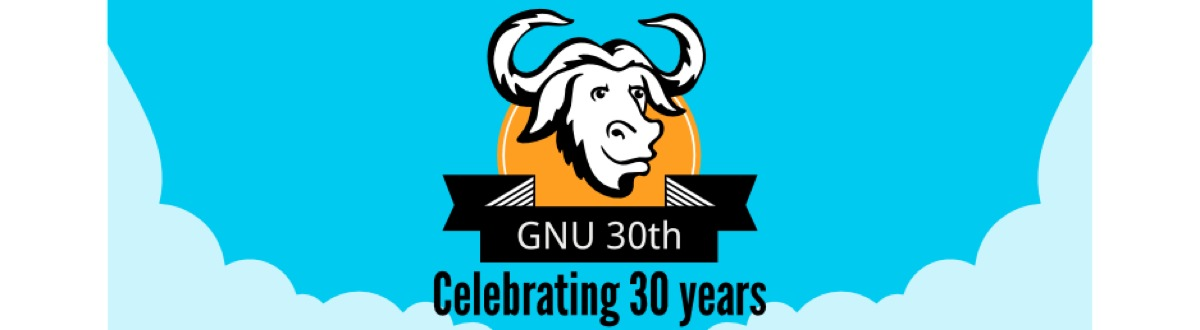 Gnu 30Th Landing Page Banner