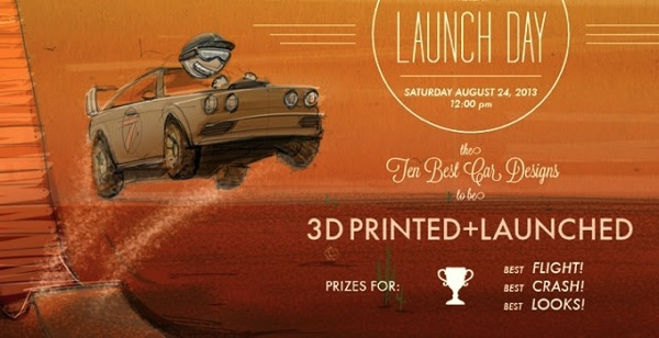 IDSA Launch Day 3D Printed Car Challenge