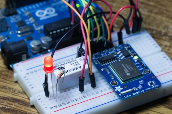 Internet of things to make