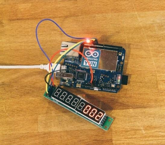 Gmail lamp project with an arduino yún « adafruit
