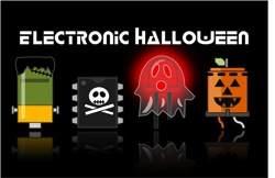 Adafruit electronic halloween dark