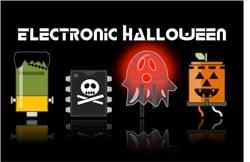 Adafruit electronic halloween dark