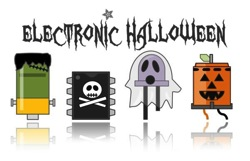 Adafruit electronic halloween light