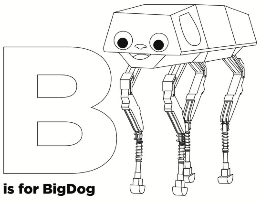 b is for bigdog  u2013 a preview from the new adafruit coloring