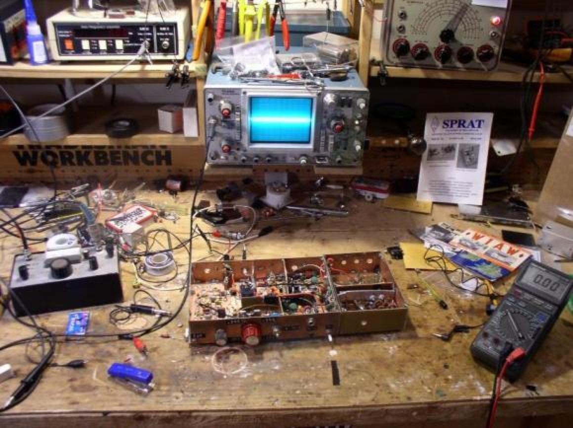amateur radio electronic workbench  Ham Radio — Hackers' Paradise