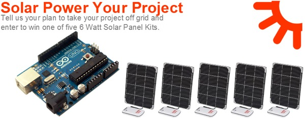 Solar power my project contest « adafruit industries