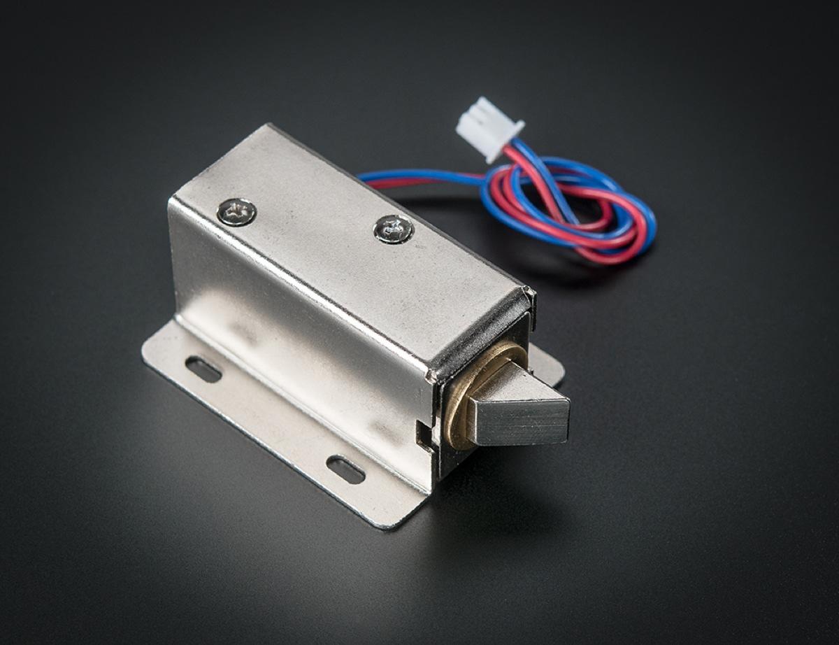 Hidden Drawer Lock How To Make A Secret Knock Activated Drawer Lock A Adafruit